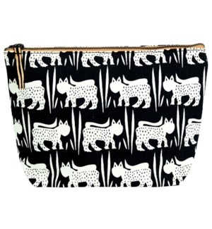 Ari Black Pouch Large