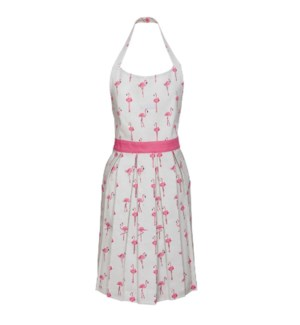 Adult Apron - Flamingos