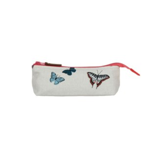 Accessory Case - Canvas - Butterflies