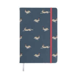 A5 Fabric Notebook - Hare
