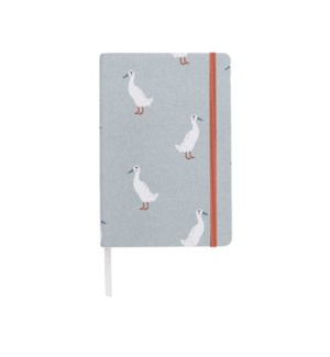 A5 Fabric Notebook - Runner Duck
