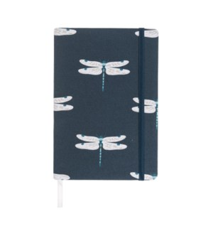 A5 Fabric Notebook - Dragonfly