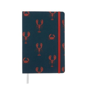 A5 Fabric Notebook - Lobster