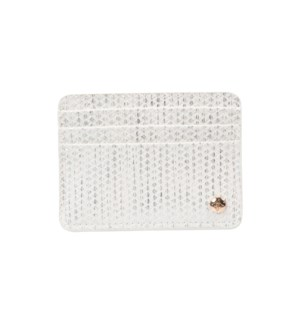 Aruba White Slim Card Holder