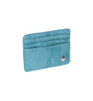 Havana Blue Card Holder