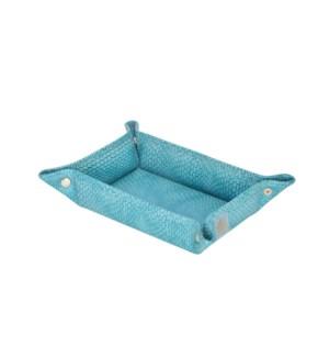 Havana Blue Snap Tray