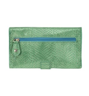 Havana Green Jane Wristlet Phone Wallet