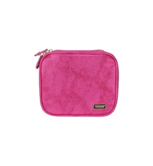 Havana Pink Sherine Large Jewelery Case