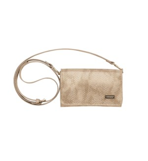 Havana Sand Brittany Crossbody Wallet