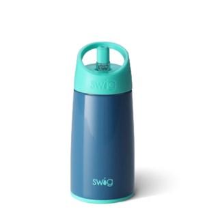 Swig 12oz Flip & Sip Bottle-Denim