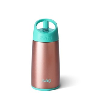 Swig 12oz Flip & Sip Bottle-Rose Gold