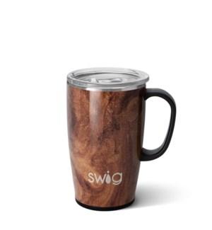 Black Walnut Travel Mug (18oz)