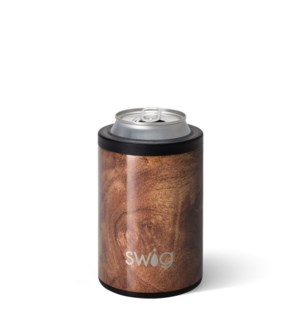 Swig 12oz Combo Cooler Black Walnut
