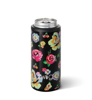 Swig 12oz Skinny Can Cooler-Fleur Noir?