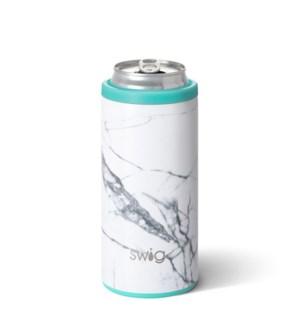 Swig 12oz Skinny Can Cooler-Marble Slab