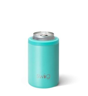 Swig 12oz Can Cooler-Matte Aqua