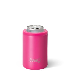 Swig 12oz Combo Cooler-Matte Hot Pink