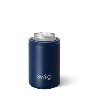 Swig 12oz Can Cooler-Matte Navy