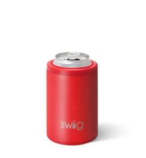 Swig 12oz Combo Cooler-Matte Red