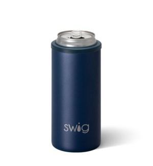 Swig 12oz Skinny Can Cooler-Matte Navy