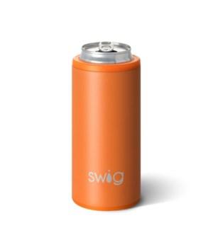 Swig 12oz Skinny Can Cooler-Matte Orange