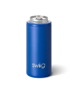 Swig 12oz Skinny Can Cooler-Matte Royal