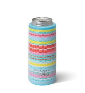 Swig 12oz Skinny Can Cooler- SCOUT- Good Vibrations