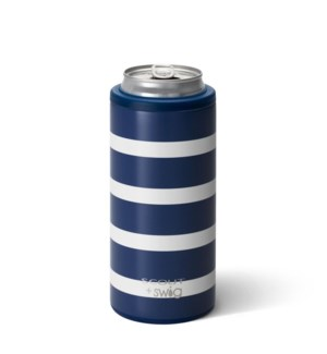 Swig 12oz Skinny Can Cooler- SCOUT- Nantucket Navy