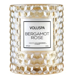 Bergamot Rose Cloche Candle