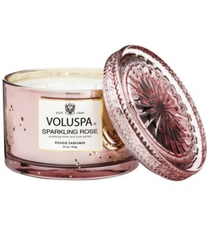 BOXED SPARKLING ROSE CORTA MAISON CANDLE
