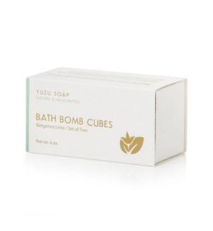 Bergamot Lime Bath Bomb Cubes