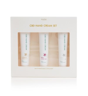 CBD Hand Cream Gift Set (Set of 3) (AUGUST 2021)
