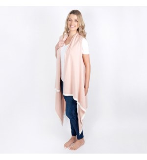 Organic Cotton Berkeley Cape Blush