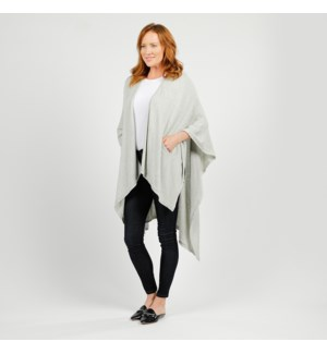Lightweight Travel Wrap - Light Gray