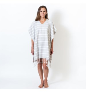 Organic Cotton Bondi  Adult Poncho Mist