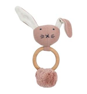 Organic Cotton Bunny Rattle