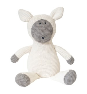 Organic Cotton Classic Knit Sheep (White)