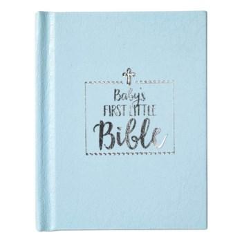 Baby's First Little Bible (Blue)