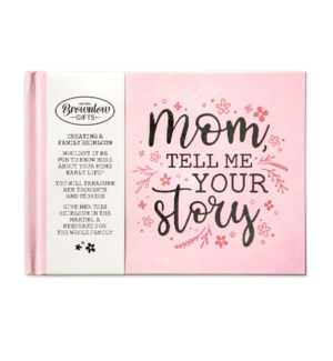 Mom, Tell Me Your Story Memory Book
