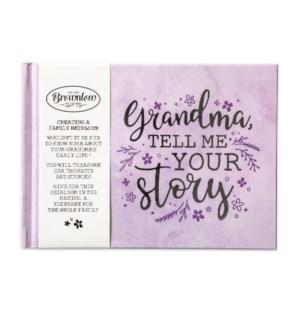 Grandma, Tell Me Your Story Memory Book