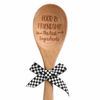 Food & Friendship Sentiment Spoon