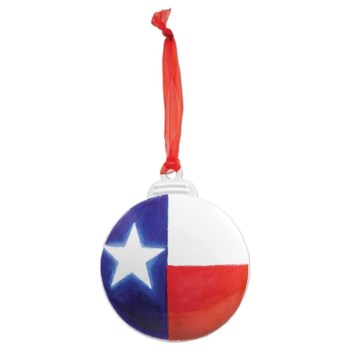 Texas Flag Ornament