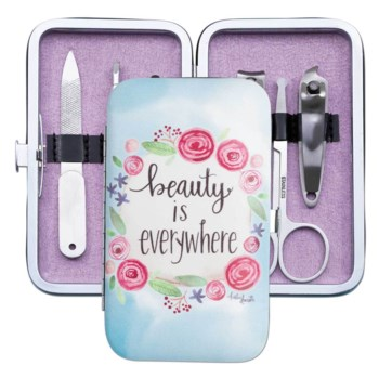 Beauty Is Everywhere Floral Manicure Set
