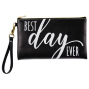 Best Day Ever Wedding Zippered Bag*