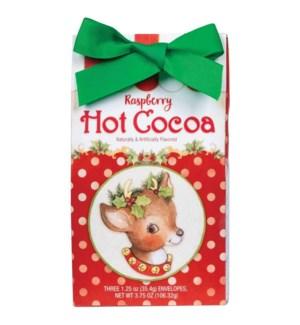 Christmas Reindeer Raspberry Cocoa