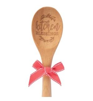 """Kitchen Blessings"" Sentiment Spoon*"