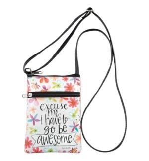 Go Be Awesome Crossbody Bag