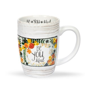 Be-You-Tiful Floral Mug*