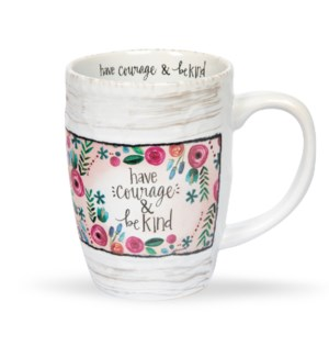 Have Courage Floral Mug*