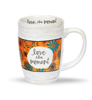 Love The Moment Floral Mug*